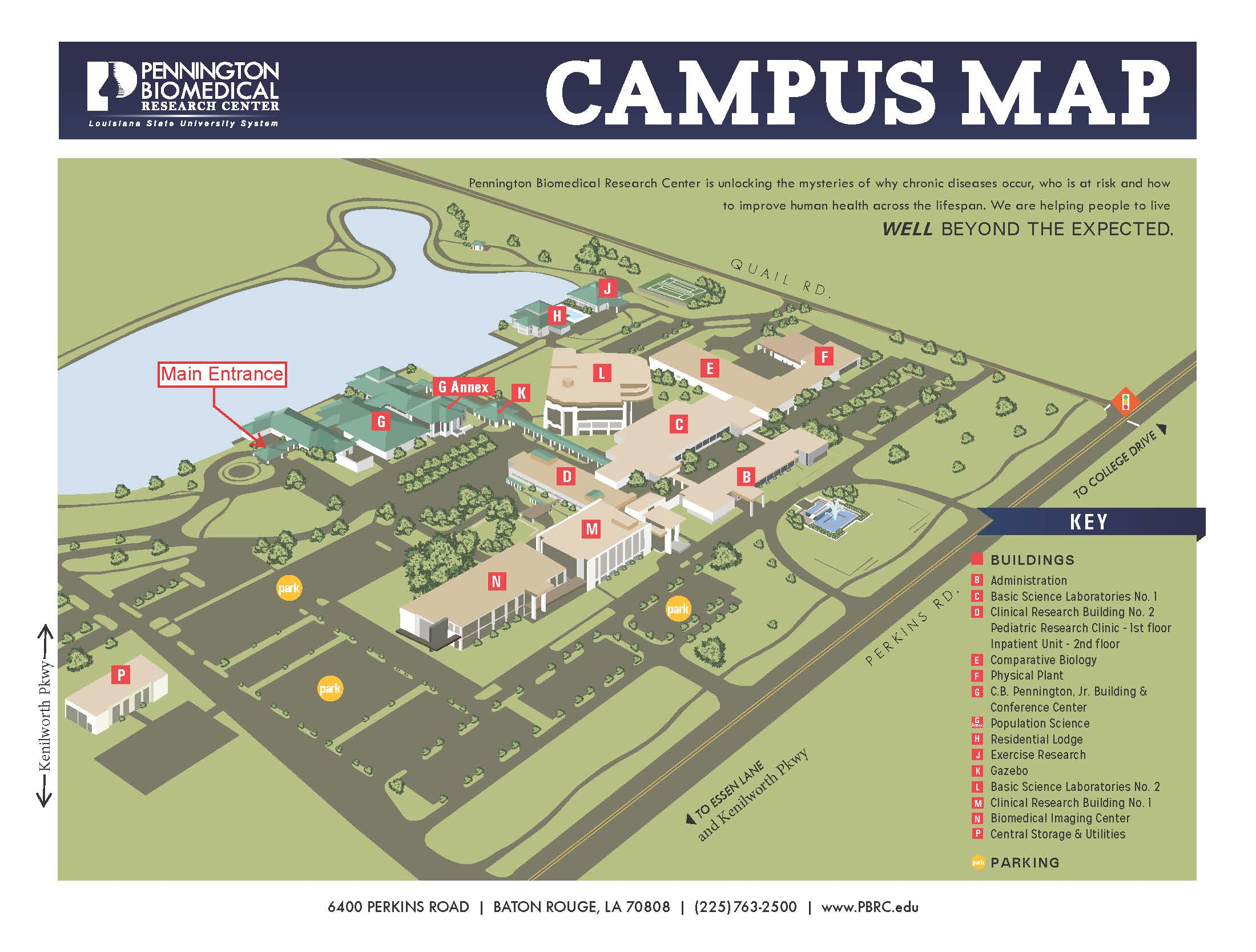 Pennington Biomedical Research Center Baton Rouge Louisiana