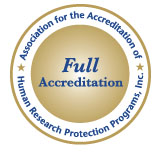 AHRPP Full Accreditation Seal